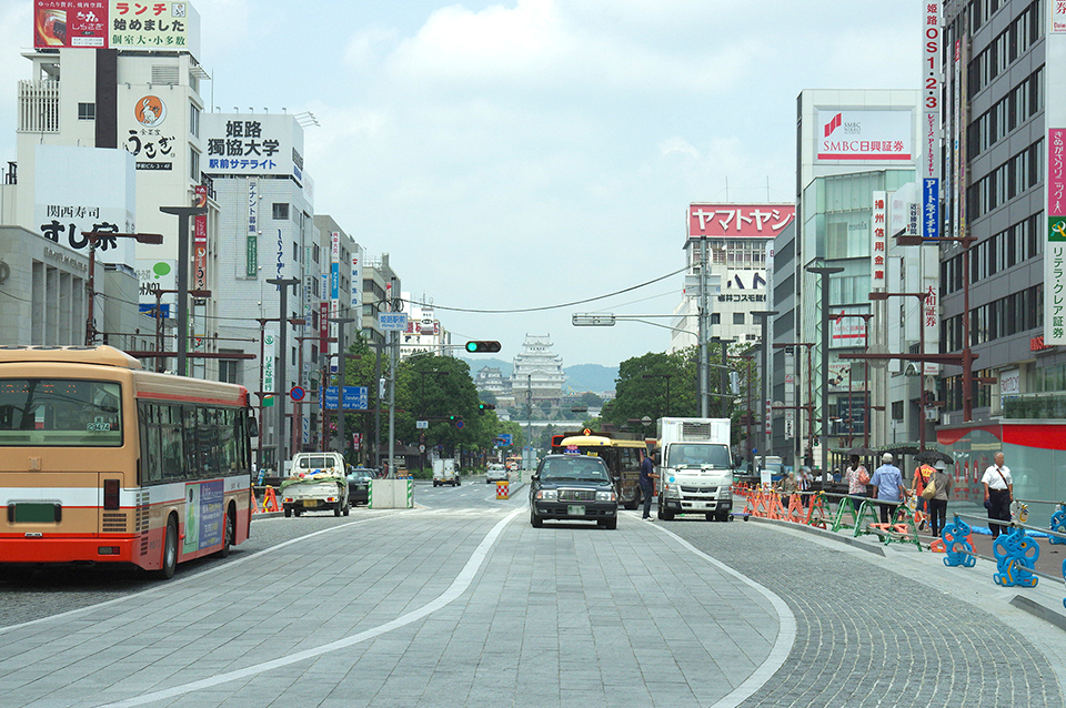 バリアフリーの街姫路